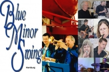 blueminorswingban 1 BLUE MINOR SWING BAND   40 Jahre! cottonclub