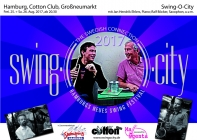 "2017 08 25 ""SWING O CITY"" THE SWEDISH CONNECTION cottonclub"