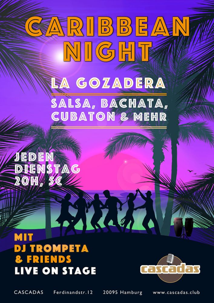 caribbean night neu CARIBBEAN NIGHT  cascadas