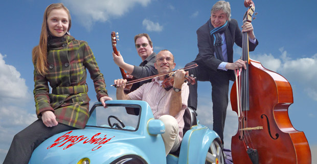 "gypsy swing Jazz am Abend mit ""Gypsy Swing"" bergedorf"